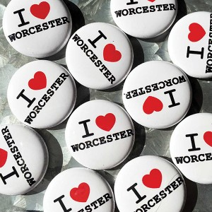 Worcester Wares Buttons
